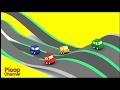 Cartoon Cars - TWISTY RACETRACK - Cartoons for Children