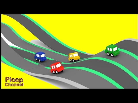 Thumbnail: Cartoon Cars - TWISTY RACETRACK Cartoons for Children - Videos for Kids - Kids Cars Cartoons