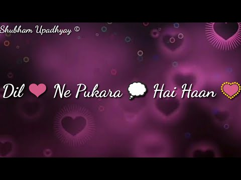 Tera Hone Laga Hoon ❤(Lyrics)  Whatsapp Status video ❤  ❤ Male version ❤  Love song Status ❤  