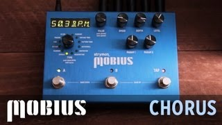 Strymon Mobius - Chorus Machine audio demo