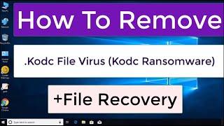 .Kodc File Virus (Kodc Ransomware) – Remove Kodc Virus + Restore Data