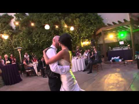 """Chelsea and Bill's First  Wedding Dance to """"Your Song"""""""