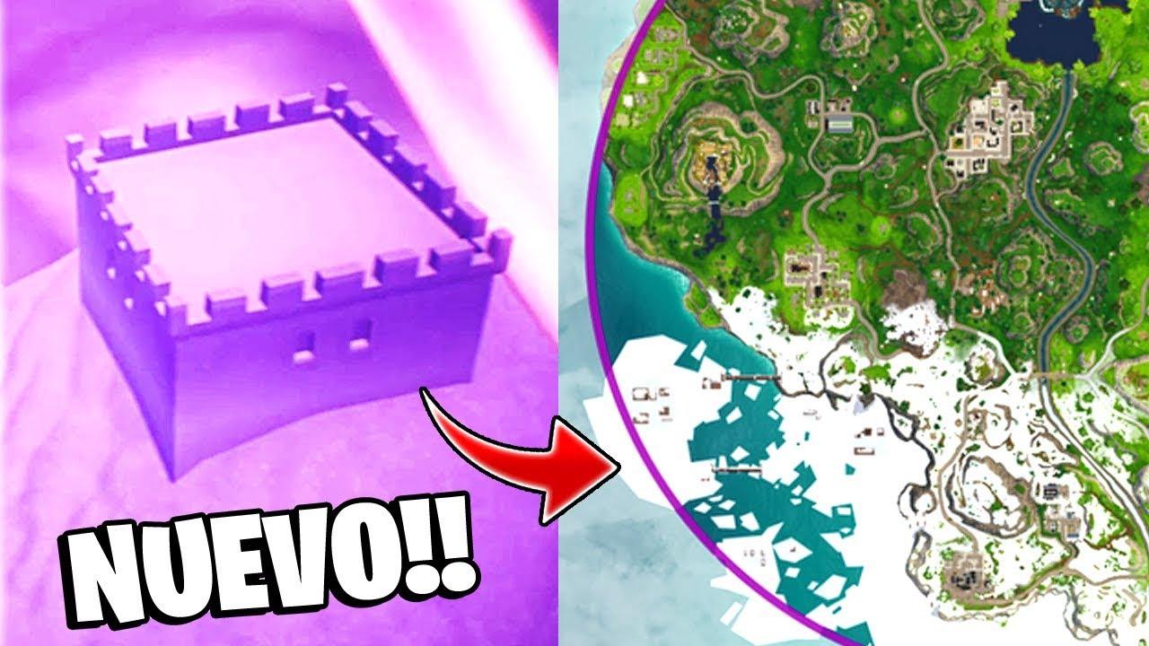 Fortnite Temporada 7 Mapa.Iceberg Se Acerca Nuevo Mapa De Hielo Temporada 7 En Fortnite Battle Royale