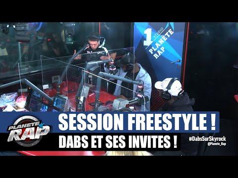 Youtube: Dabs – Session freestyle avec Dadinho, Melina & Scratch! #PlanèteRap