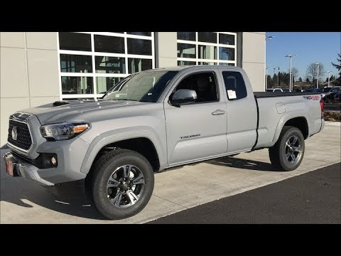 2018 Tacoma TRD Sport Virtual Test Drive - YouTube