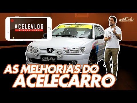 O RETORNO DO ACELECARRO! 306 DE TRACK DAY GANHA SUSPENSÃO PARA PISTA E MAIS POTÊNCIA - ACELEVLOG #29