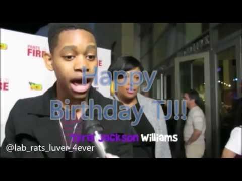 Happy 20th birthday Tyrel Jackson Williams