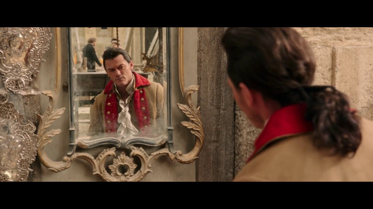 Gaston Mirror Scene Beauty and the Beast