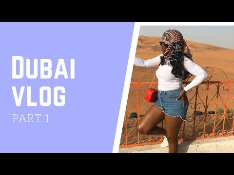 VLOG : DUBAI 2019 | DESERT SAFARI | PART 1 | GEORGINA OKAKOSO