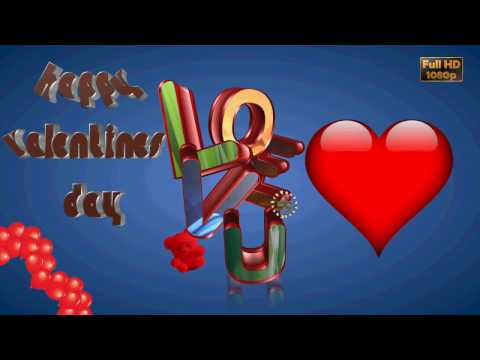Happy Valentines Day 2020, Wishes Video, Free Animated Ecards