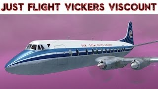 Just Flight - Viscount - Legends of Flight Details FSX HD