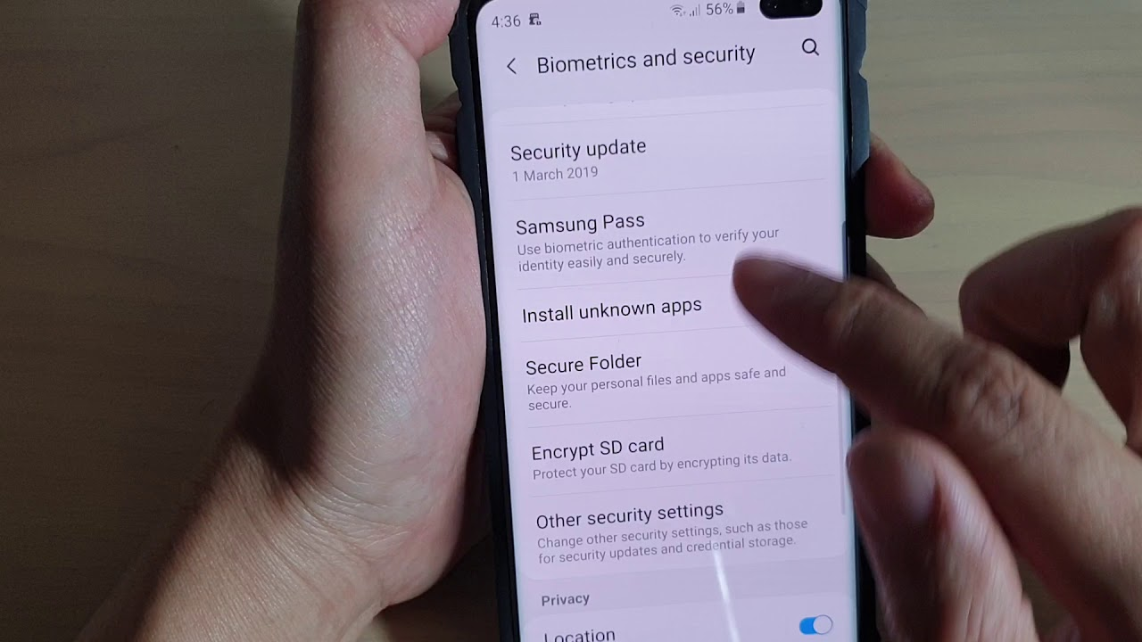 Galaxy S10 / S10+: How to Enable / Disable Security Policy Auto Update