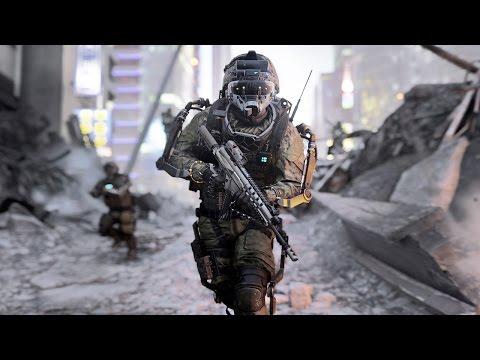 Call of Duty: Advanced Warfare - Начало игры