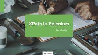 XPATH tutorial selenium | Selenium Tutorial | Techcanvass