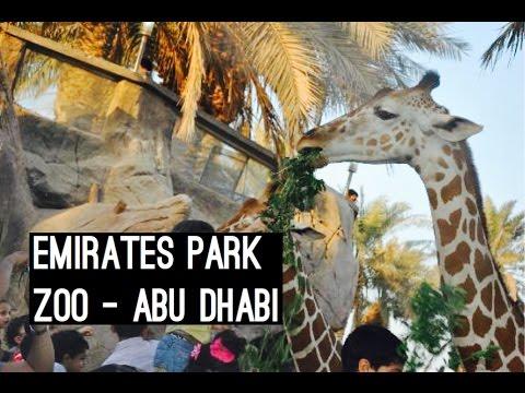 Visiting Emirates Park Zoo (Vlog #110) #InAbuDhabi