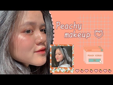 peachy-makeup-|-zii-nguyen