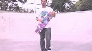 Skateboard Tricks: Half-Cab 180 Kickflip