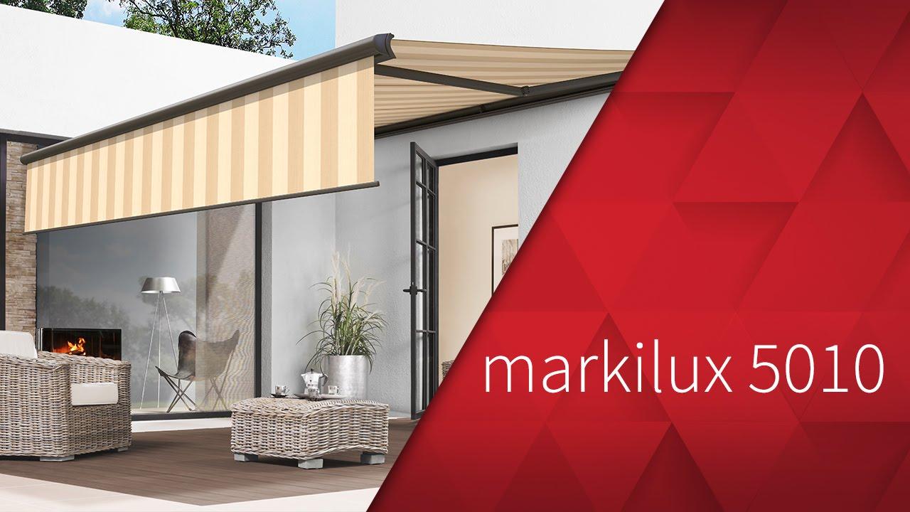 markilux 5010 kassetten markise youtube. Black Bedroom Furniture Sets. Home Design Ideas
