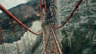 San Andreas (2015) -  Tsunami Scene - Pure Action [4K]