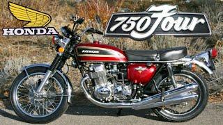 Honda CB  750 -  the Bike that Changed Everything !