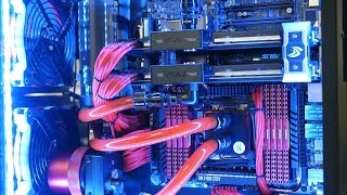Intel 5960x With Sli Titan Z Aventum Ii Ultimate Water Cooled Pc Build