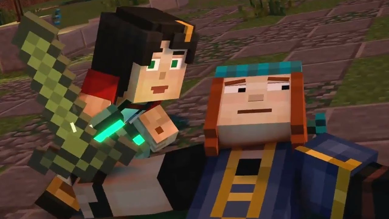 Jesse And Petra Minecraft Story Mode Season 2 Episode 1 Hero In