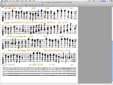 Aruspix early music print recognition