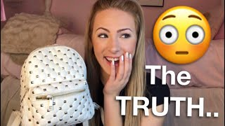 Find Out What's REALLY in my PURSE! 🤭 (DECLUTTER)