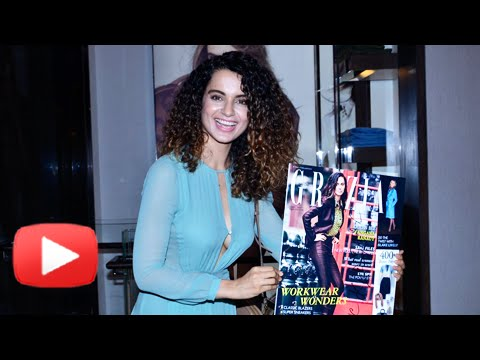 Kangana Ranaut Launches Grazia Magazine Cover - Uncut Video