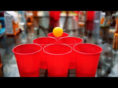 🔴 Scammer Beer Pong LIVE STREAM (with Roombas!)