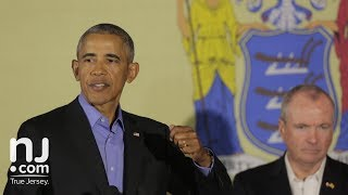 Barack Obama speaks in Newark with Phil Murphy - Highlights