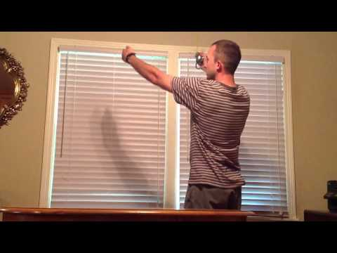 How to correctly measure a window for blinds