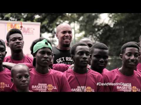 David West in Ghana - Basketball Clinic ( Episode 2 )