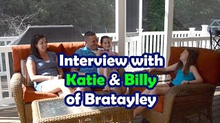 Katie (Mom) and Billy (Dad) from Bratayley Are Interviewed By Bethany G