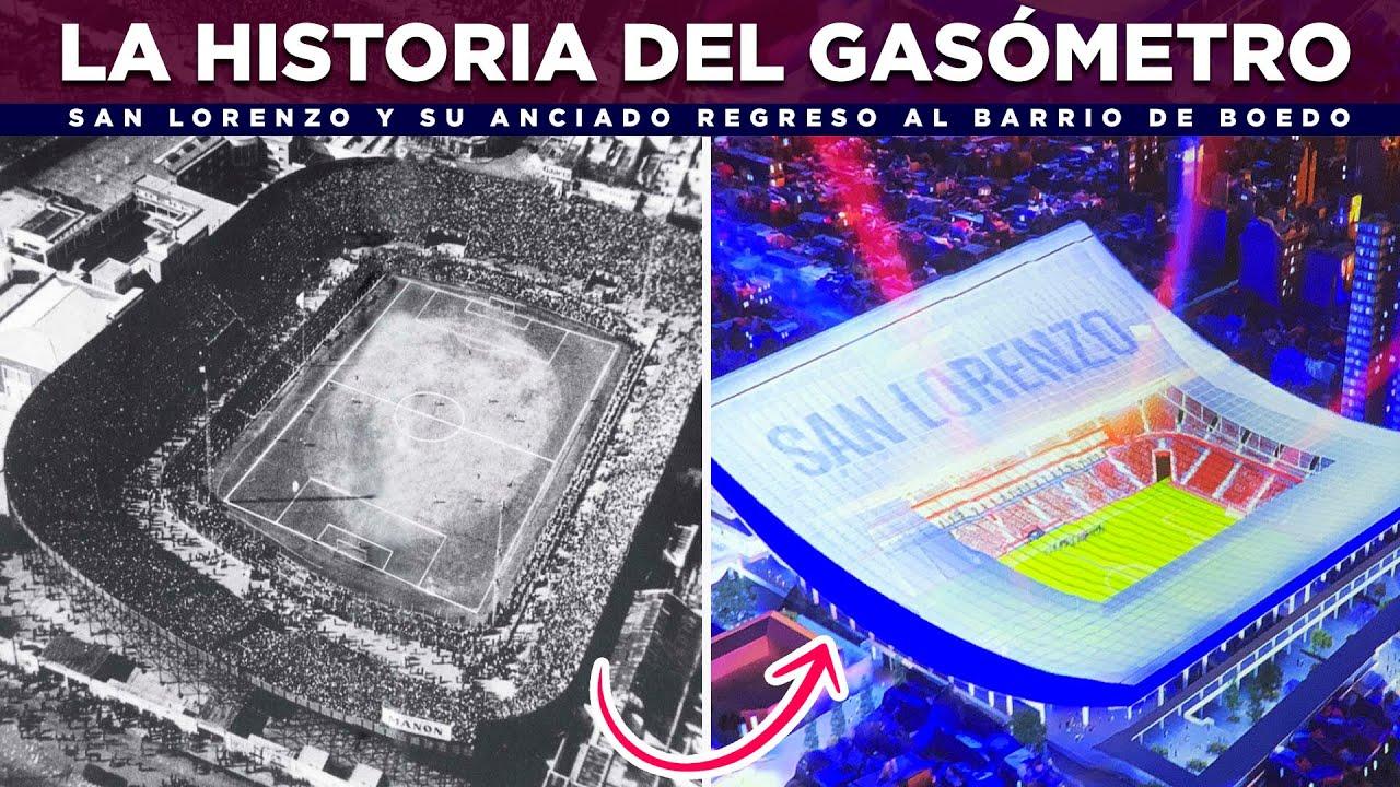 La historia de El Gasómetro de San Lorenzo y el regreso al barrio de Boedo con nuevo estadio