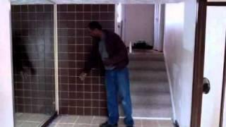 Custom Wall With Hidden Door - Hjinteriors