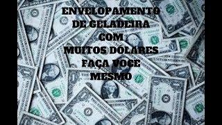 DIY-  COMO  Envelopar  Geladeira FACIL