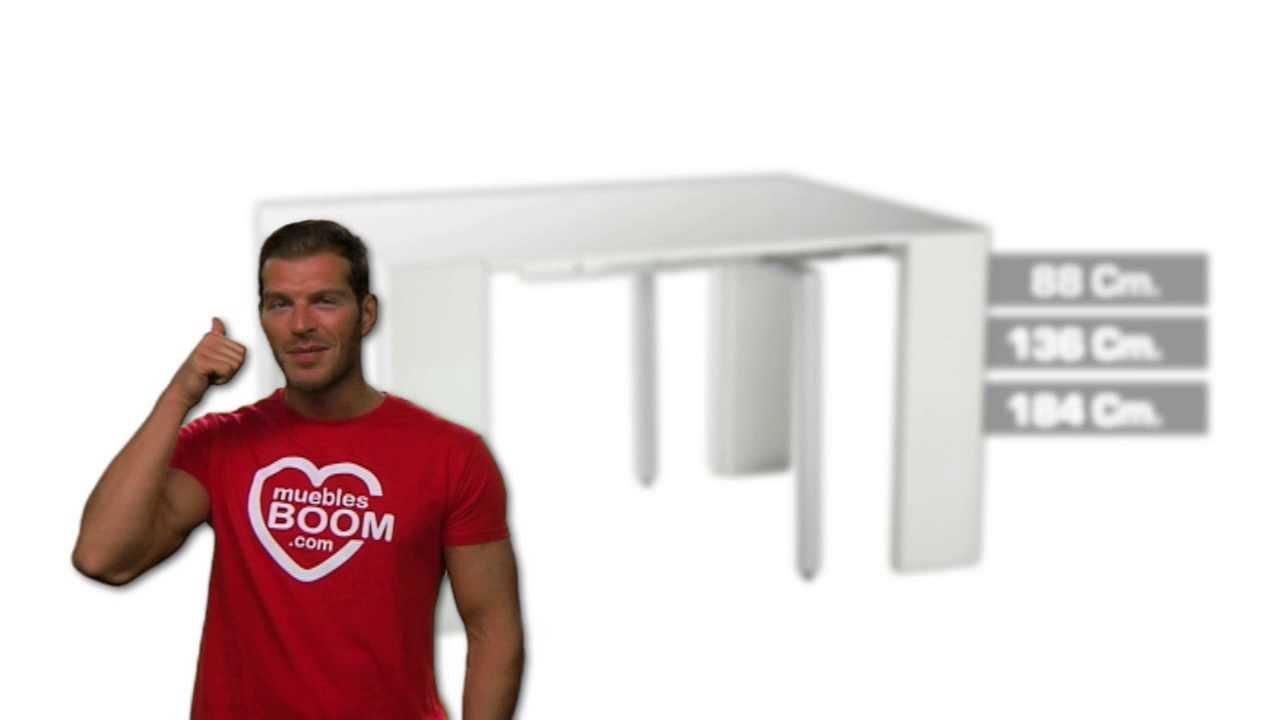 Muebles Boom Mesa Comedor Y Consola 25 Mco Mod 06