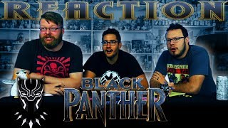 Black Panther Official Trailer REACTION!!