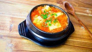 Kimchi Jjigae - Easy Kimchi Stew