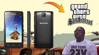 "Gambar cover Test LENOVO A1000 ""CPU Z + GTA SanAndreas"" MAX Setting"