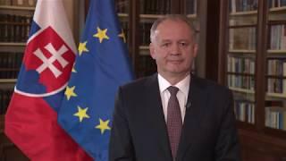 Prezident Andrej Kiska o sobotných voľbých do europarlamentu