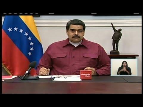 Presidente Maduro en cadena nacional 1/11/2017