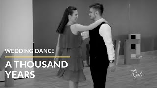 Pierwszy Taniec - Christina Perri - Thousand Years || Studio Tańca Rytm - Wedding Dance Choreography