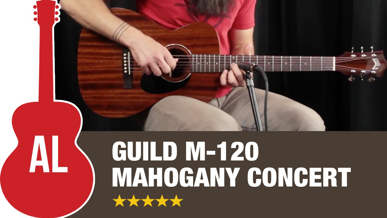 Guild M-120 Mahogany Concert - How Does it Sound?
