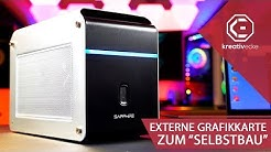 Eine EXTERNE GRAFIKKARTE ZUM SELBER BAUEN?! (+Gewinnspiel) | Sapphire Gearbox im Test (