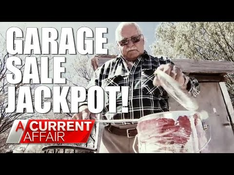 Garage Sale Jackpot | A Current Affair Australia
