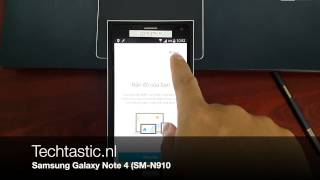 First Samsung Galaxy Note 4 video