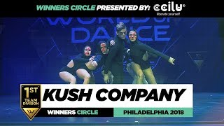 Kush Company   1st Place Team   Winners Circle   World of Dance Philadelphia 2018   # WODPHILLY18