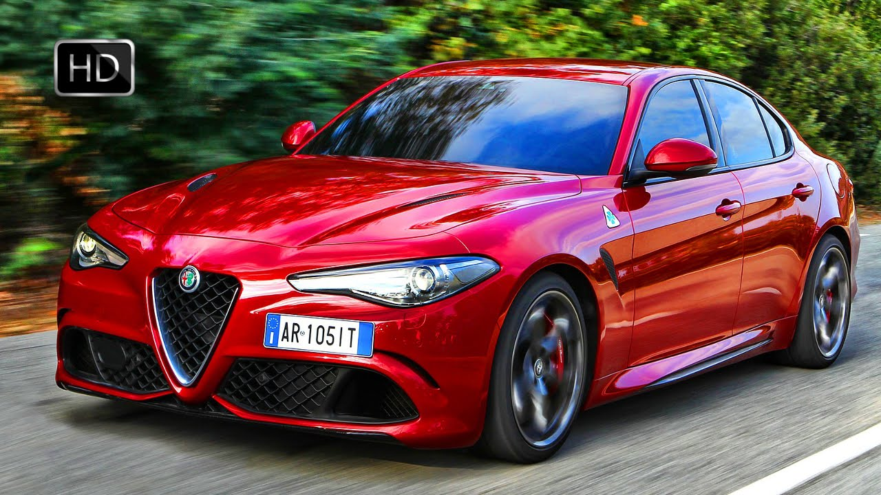 VIDEO: 2017 Alfa Romeo Giulia Quadrifoglio Sport Sedan 505